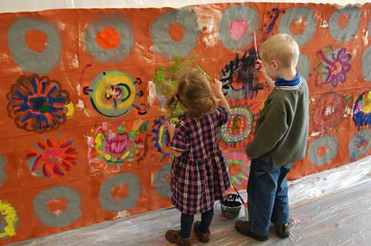 Teaching art to young children